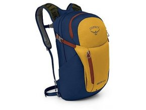 osprey daylite plus 20l honeybee yellow deep sea blue