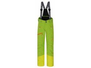 Husky Dětské lyžařské kalhoty  Gilep Kids zelená