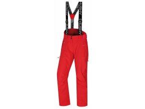 Husky Dámské lyžařské kalhoty  Mitaly L neonově růžová