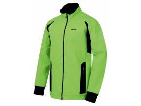 Husky Pánská softshell bunda   Scooby M neonově zelená