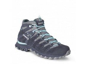 AKU Alterra Lite GTX Mid WS šedo/sv. modrá  dámská obuv