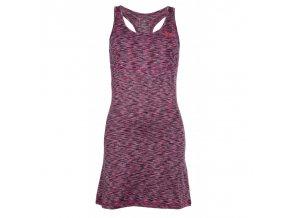 Kilpi Sonora-w růžová  dámské šaty