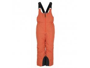 Kilpi Daryl-jb oranžová  dětské kalhoty