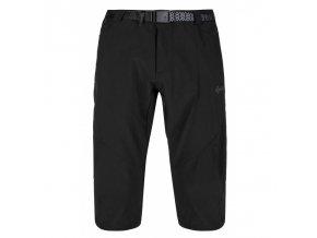 Kilpi Otara-m černá  pánské 3/4 kalhoty