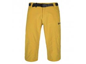 Kilpi Otara-m žlutá  pánské 3/4 kalhoty