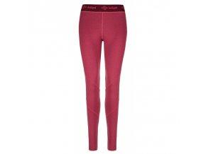 Kilpi Invera-w tmavě červená  dámské kalhoty + Kód pro dodatečnou 26% slevu: KILPI26