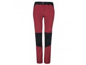 Kilpi Hosio-w tmavě červená  dámské kalhoty