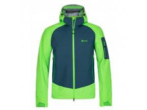 Kilpi Lexay-m zelená  pánská bunda + kód pro dodatečnou 20% slevu: OUTDOOR20