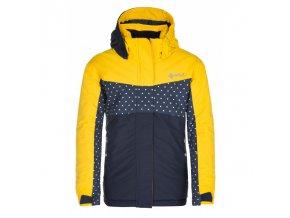 Kilpi Mils-jg žlutá  dětská bunda + kód pro dodatečnou 20% slevu: 20NAVSECHNO