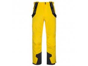 Kilpi Reddy-m žlutá  pánské kalhoty