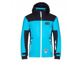 Kilpi Team jacket-j černá  dětská bunda