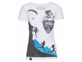 Kilpi Temy-w bílá  dámské triko + Kód pro dodatečnou 26% slevu: KILPI26