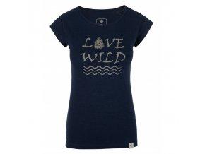 Kilpi Flori-w tmavě modrá  dámské triko + kód pro dodatečnou 20% slevu: 20NAVSECHNO