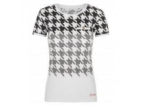 Kilpi Emmy-w bílá  dámské triko + Kód pro dodatečnou 26% slevu: KILPI26