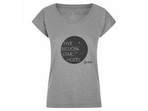 Kilpi Star-w světle šedá  dámské triko + Kód pro dodatečnou 26% slevu: KILPI26