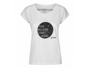 Kilpi Star-w bílá  dámské triko + Kód pro dodatečnou 26% slevu: KILPI26