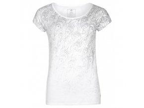 Kilpi Christie-w bílá  dámské triko + kód pro dodatečnou 20% slevu: 20NAVSECHNO
