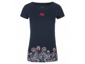 Kilpi Mint-w tmavě modrá  dámské triko + kód pro dodatečnou 20% slevu: 20NAVSECHNO