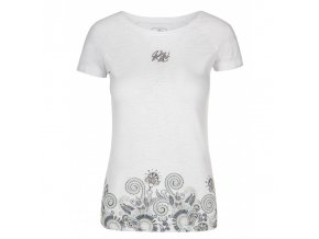 Kilpi Mint-w bílá  dámské triko + kód pro dodatečnou 20% slevu: 20NAVSECHNO