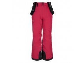 Kilpi Elare-jg růžová  dětské kalhoty + kód pro dodatečnou 10% slevu: 20PRODETI
