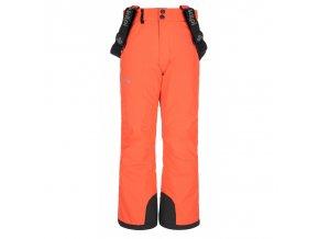 Kilpi Elare-jg korálová  dětské kalhoty + kód pro dodatečnou 10% slevu: 20PRODETI