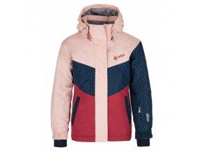 Kilpi Mils-jg světle růžová  dětská bunda + Kód pro dodatečnou 26% slevu: KILPI26
