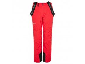 Kilpi Elare-w červená  dámské kalhoty