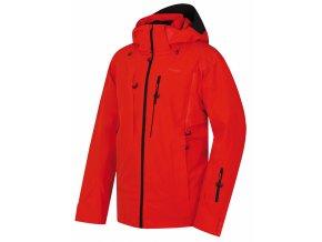 Husky Pánská lyžařská bunda   Montry M výrazná cihlová