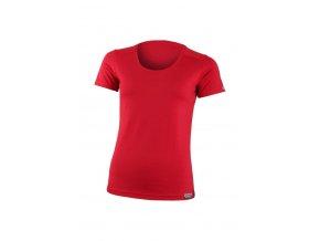 Lasting dámské merino triko IRENA červené
