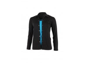 Lasting dámská merino košile AMANDA černá