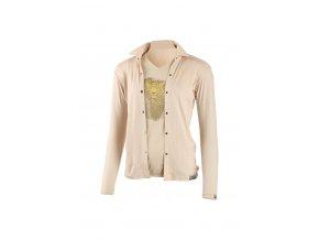 Lasting dámská merino košile AMANDA béžová