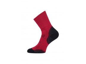 Lasting merino ponožky TKA červené