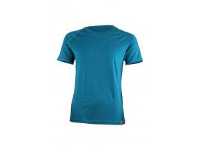 Lasting dámské merino triko ALEA modré