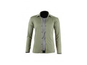 Lasting dámská merino košile AMANDA zelená