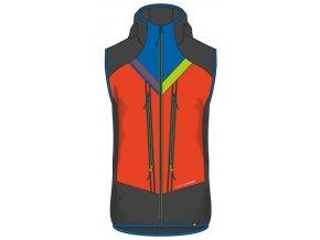 northfinder panska vesta ski touring vhan black orange ve 3280skp 383 01