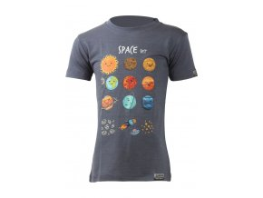 Lasting dětské merino triko LUNA modré