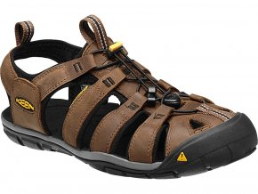 Keen CLEARWATER CNX LEATHER MEN dark earth/black