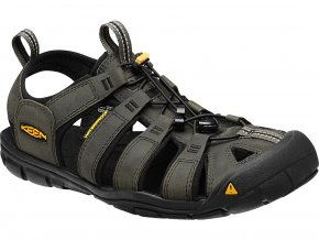 Keen CLEARWATER CNX LEATHER MEN magnet/black