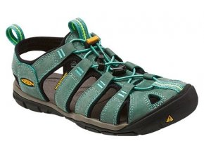 keen clearwater cnx leather w mineral blue yellow 1