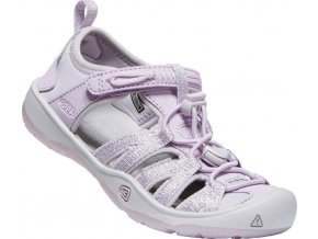 keen moxie sandal youth lavender fog metallic 01