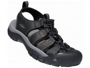 Keen NEWPORT MEN black/steel grey  pánské sandály + kód pro dodatečnou 10% slevu: KEEN10
