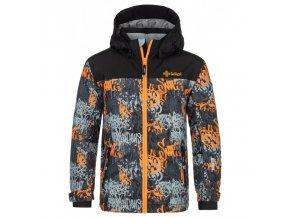 Kilpi Ateni-jb oranžová  dětská bunda + Kód pro dodatečnou 26% slevu: KILPI26