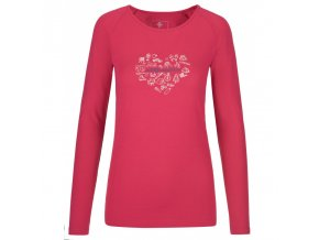 Kilpi Ina-w růžová  dámské triko + kód pro dodatečnou 20% slevu: 20NAVSECHNO