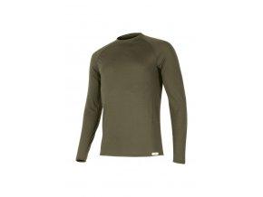 Lasting pánské merino triko ATAR zelené