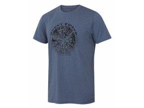 Husky Pánské triko   Tash M tm. modrá