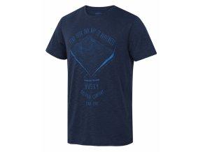 Husky Pánské triko   Tingl M tm. modrá