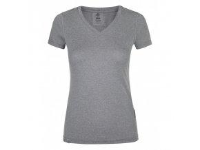 Kilpi Dimel-w světle šedá  dámské triko