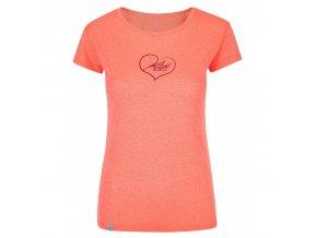 Kilpi Garove-w korálová  dámské triko