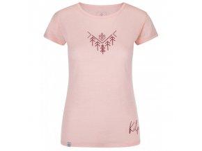 Kilpi Garove-w světle růžová  dámské triko