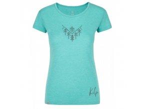 Kilpi Garove-w tyrkysová  dámské triko